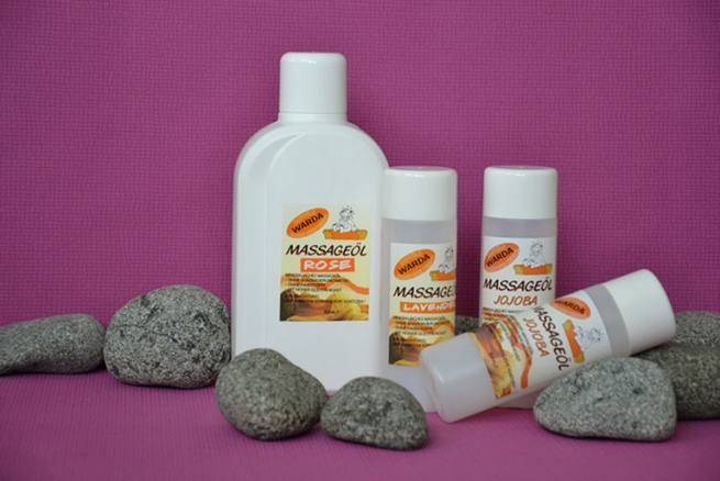 Massageöl - Zitrone