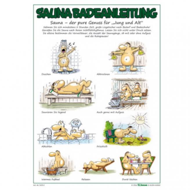 sauna aushangtafel badeanleitung. Black Bedroom Furniture Sets. Home Design Ideas