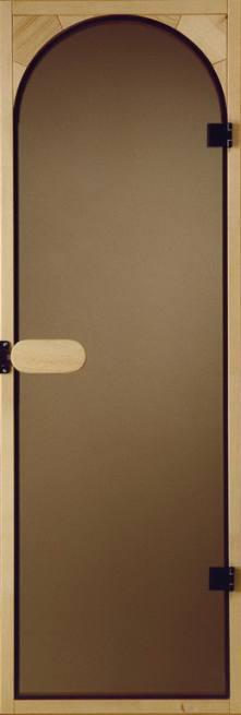 Tür Rundbogen Glas ~ Saunatür Rundbogen Glastür  Glas bronciert oder Klar